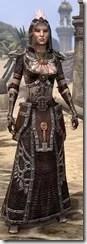 Argonian Spidersilk - Female Robe Front