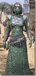Ashlander Homespun - Female Robe Close Front