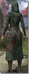 Assassins League Robe - Female Back