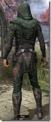 Assassins League Shirt - Male Back