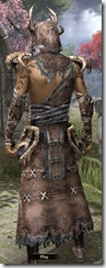 Barbaric Homespun Robe - Male Back