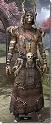 Barbaric Homespun Robe - Male Front