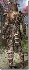 Barbaric Rawhide - Male Back