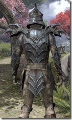 Daedric Iron - Male Back Close