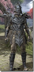Daedric Iron - Male Front