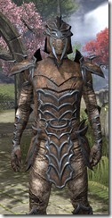 Daedric Rawhide - Male Close Front