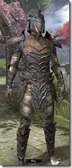 Daedric Rawhide - Male Front
