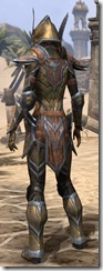 Dark Elf Dwarven - Female Rear
