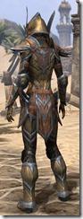 Dark Elf Dwarven - Female Rear