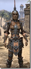 Dark Elf Full-Leather - Female Close Front