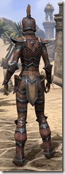 Dark Elf Hide - Female Rear