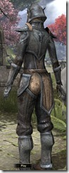 Dunmer Iron - Female Back