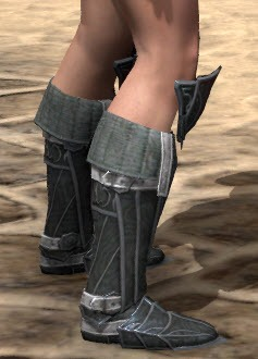 Ebony boot