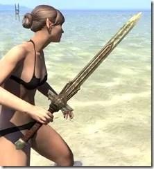 Ancient Elf Dwarven Sword 2