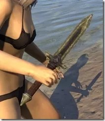 Ancient Elf Iron Dagger 2