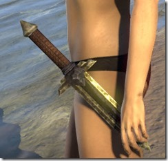 Ancient Elf Iron Dagger
