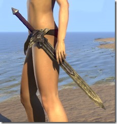 Ancient Elf Iron Sword