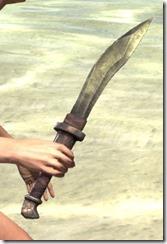 Argonian Orichalc Dagger 2