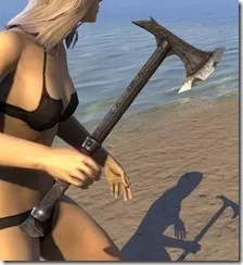 Daedric Iron Axe 2