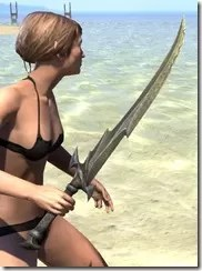 Daedric Orichalc Sword 2
