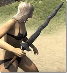 Dunmer Iron Sword 2