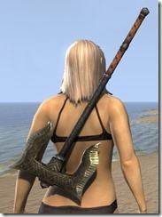 Dunmer Orichalc Battle Axe 2