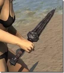 Dwemer Iron Dagger 2