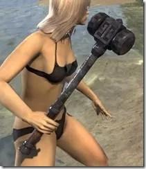 Dwemer Iron Mace 2
