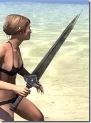 Dwemer Orichalc Sword 2