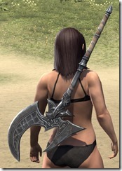 Grim Harlequin Iron Battle Axe 2