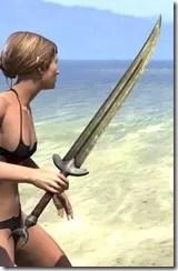 Khajiit Orichalc Sword 2