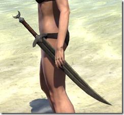 Khajiit Orichalc Sword
