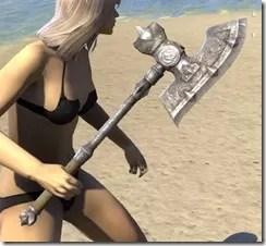 Mercenary Iron Axe 2