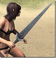 Minotaur Iron Sword 2