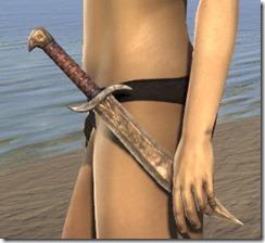 Redguard Dwarven Dagger