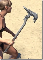 Horned Dragon Mace 2