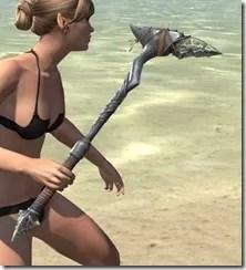 Elder Argonian Iron Axe 2