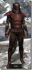 Ashlander Medium - Argonian Male Front