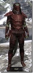 Ashlander Medium - Argonian Male Front
