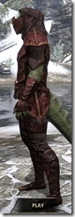 Ashlander Medium - Argonian Male Side