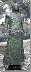 Ashlander Homespun - Argonian Male Robe Front