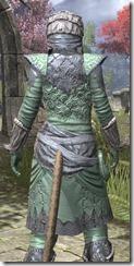 Ashlander Homespun - Khajiit Female Shirt Close Rear