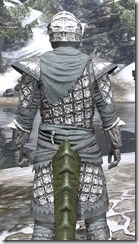 Ashlander Rawhide - Argonian Male Close Rear
