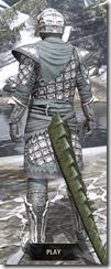 Ashlander Rawhide - Argonian Male Rear