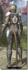 Dead-Water Iron - Khajiit Female Rear
