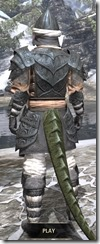 Abah's Watch - Argonian Male Rear
