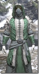 Abah's Watch Homespun - Argonian Male Robe Close Front
