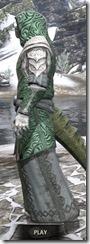 Abah's Watch Homespun - Argonian Male Robe Side