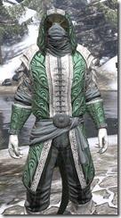 Abah's Watch Homespun - Argonian Male Shirt Close Front
