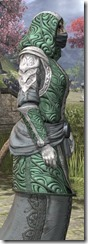 Abah's Watch Homespun - Khajiit Female Robe Close Side
